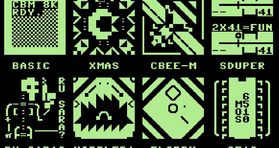 PETSCII 8×8 Blocks